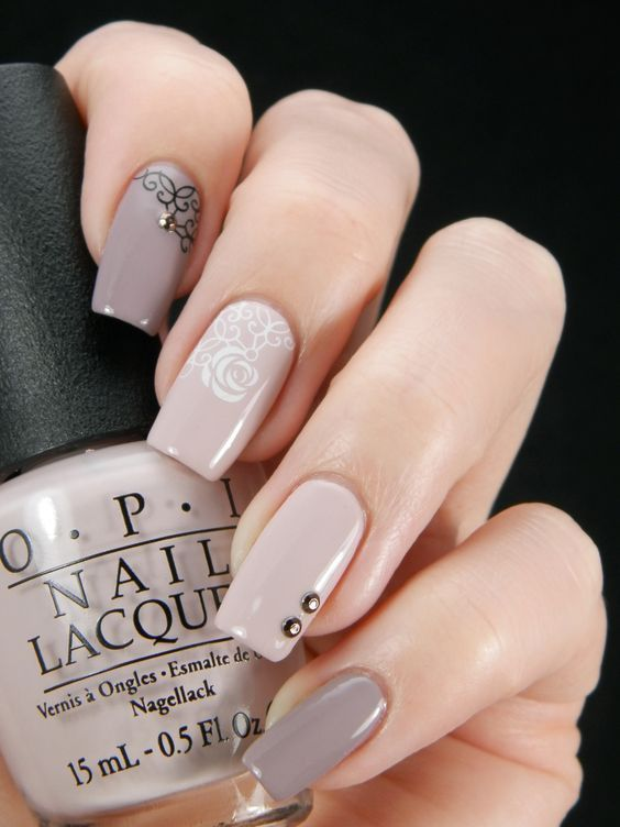 Conosciuto Mismatched Nude Nail Art Pictures, Photos, and Images for Facebook  SH65
