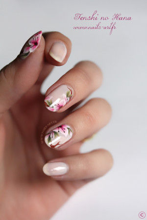 Spring Floral Nude Nails Pictures, Photos, and Images for Facebook ...