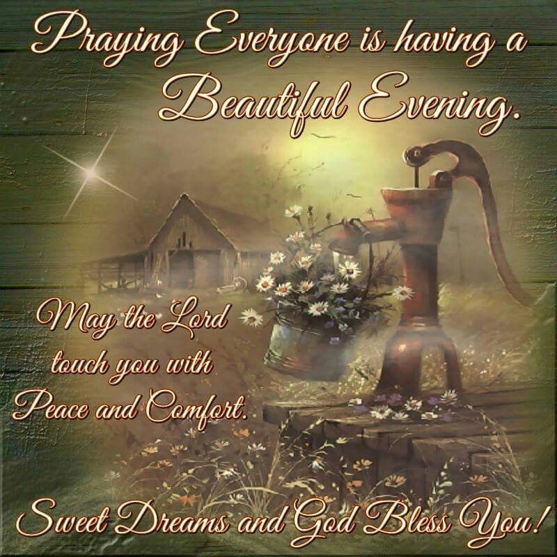 Praying Everyone Is Having A Beautiful Evening Pictures Photos And