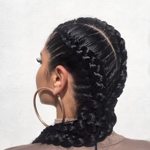 Black Double Dutch Braids Pictures Photos And Images For Facebook