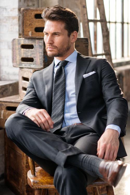 Classic Charcoal Grey Suit Pictures Photos And Images