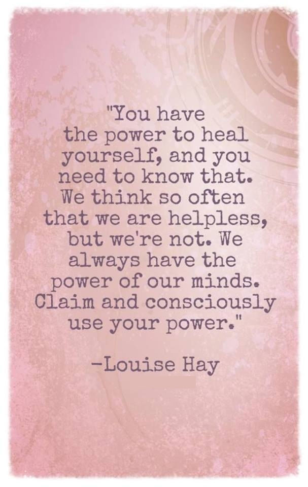 You Have The Power To Heal Yourself.. Pictures, Photos, and Images