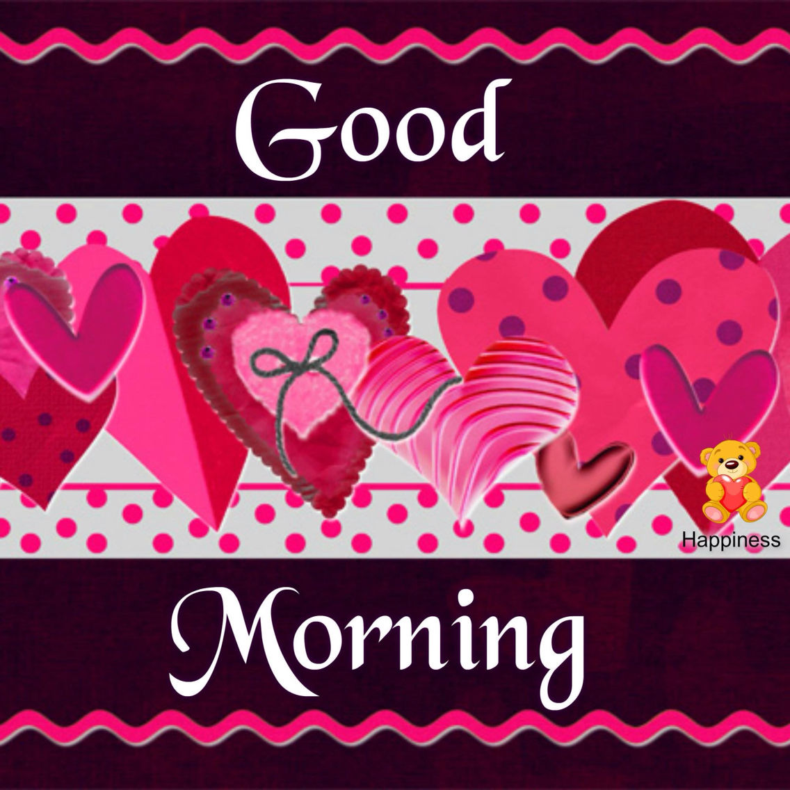 Good Morning Hearts Image Pictures, Photos, And Images For