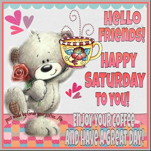 Happy Saturday Friends Chat-A-Thon Thread - P...