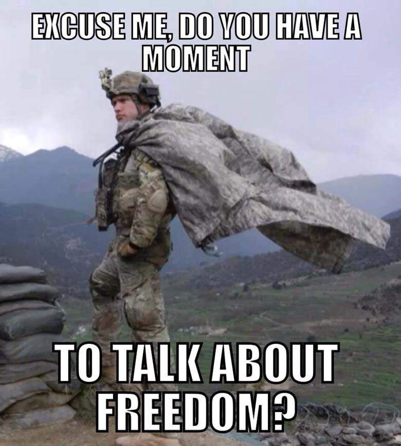 Excuse Me, Do You Have A Moment To Talk About Freedom ...
