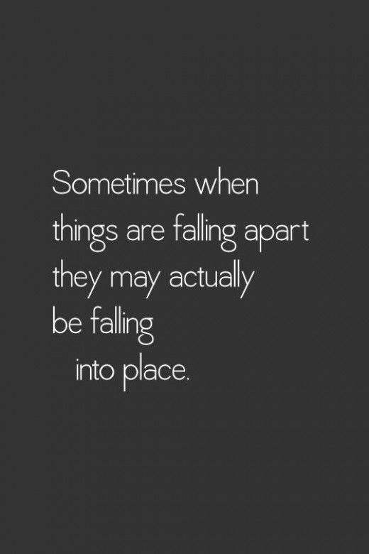 Falling Apart Quotes Tumblr: Sometimes When Things Are Falling Apart Pictures, Photos