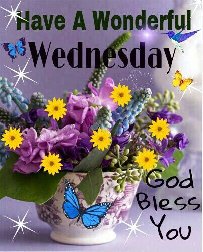 Wonderful Quotes Usi Comg Flowers: Have A Wonderful Wednesday Pictures, Photos, And Images
