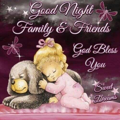 Goodnight Family   Fri...