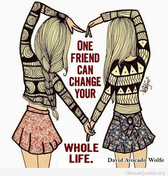 my best friend changed my life Here are five vital, life-altering lessons i've learned since my friend's death, and whether you knew her or not, i hope you'll find value in them,.