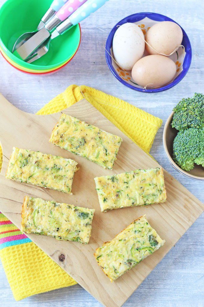 Broccoli Cheese Frittata Fingers Pictures, Photos, and Images for ...