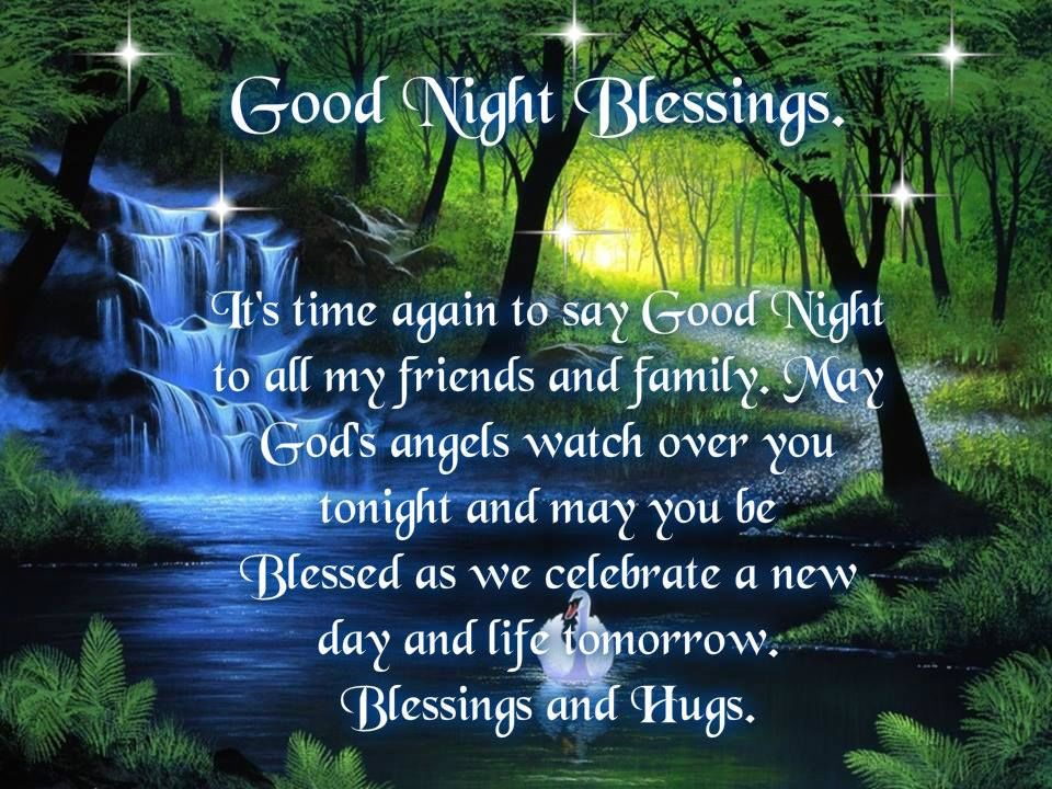 Good Night Blessings Pictures, Photos, And Images For