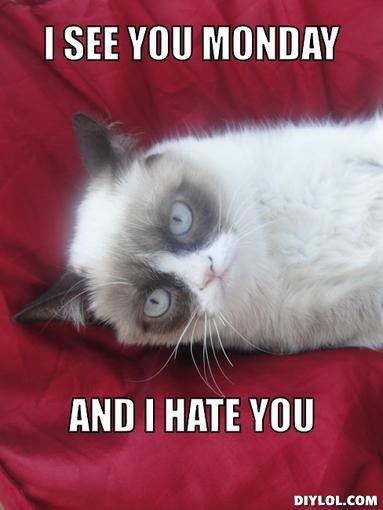 I Hate Monday Images I See You Monda...
