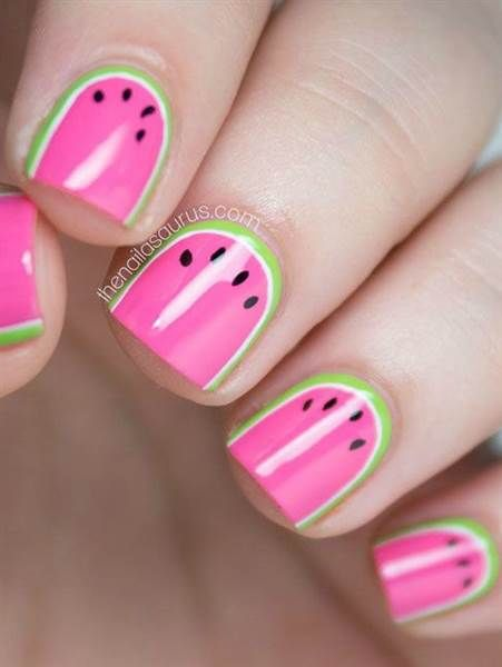 Watermelon Nail Art Design Pictures, Photos, and Images ...