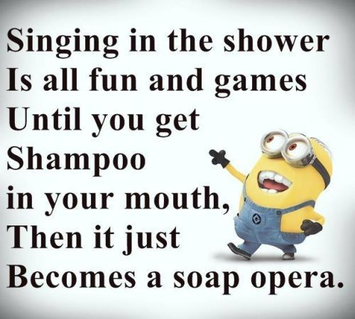 Funny Joke Quote: Singing In The Shower Pictures, Photos, And Images For