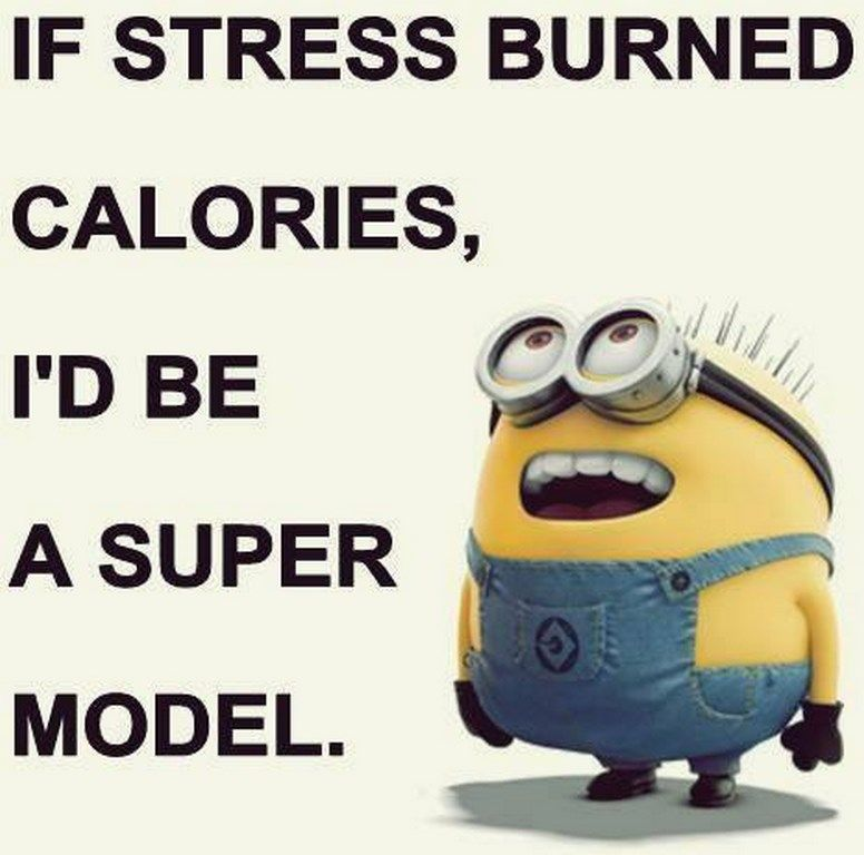 Funny Minion Quotes About Stress: If Stress Burned Calories Pictures, Photos, And Images For