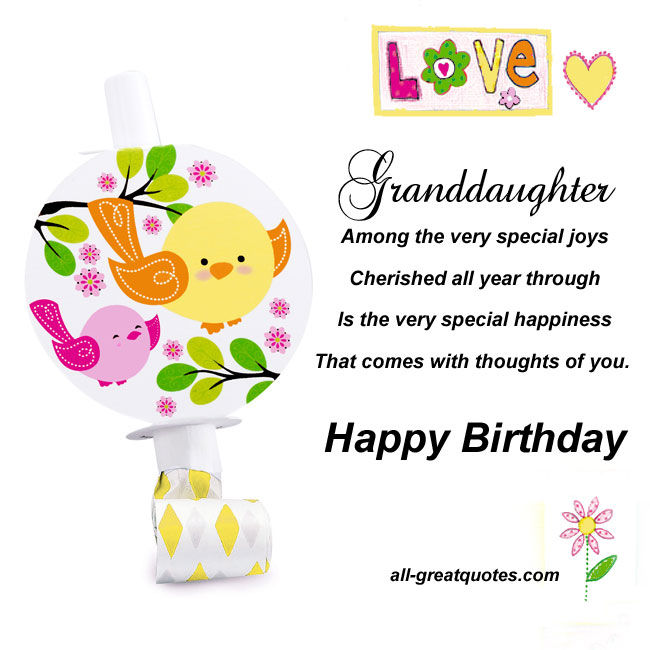 Granddaughter Happy Birthday Pictures, Photos, And Images