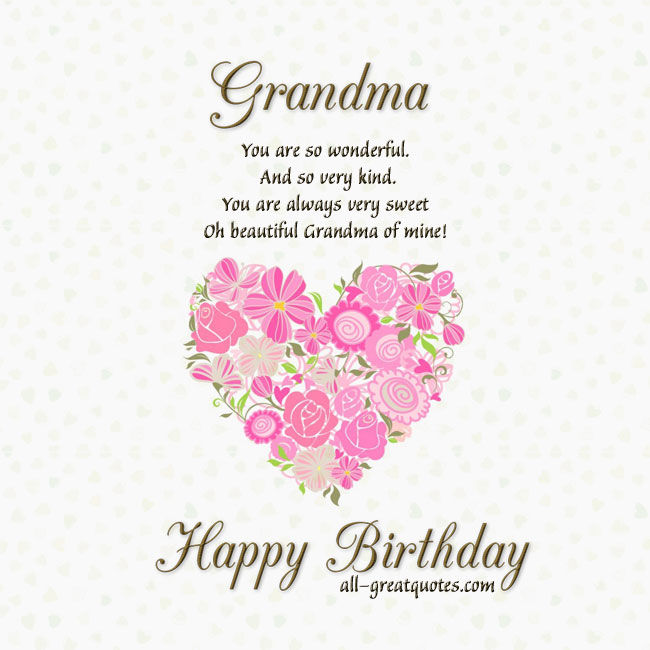 Grandma Happy Birthday Pictures, Photos, And Images For