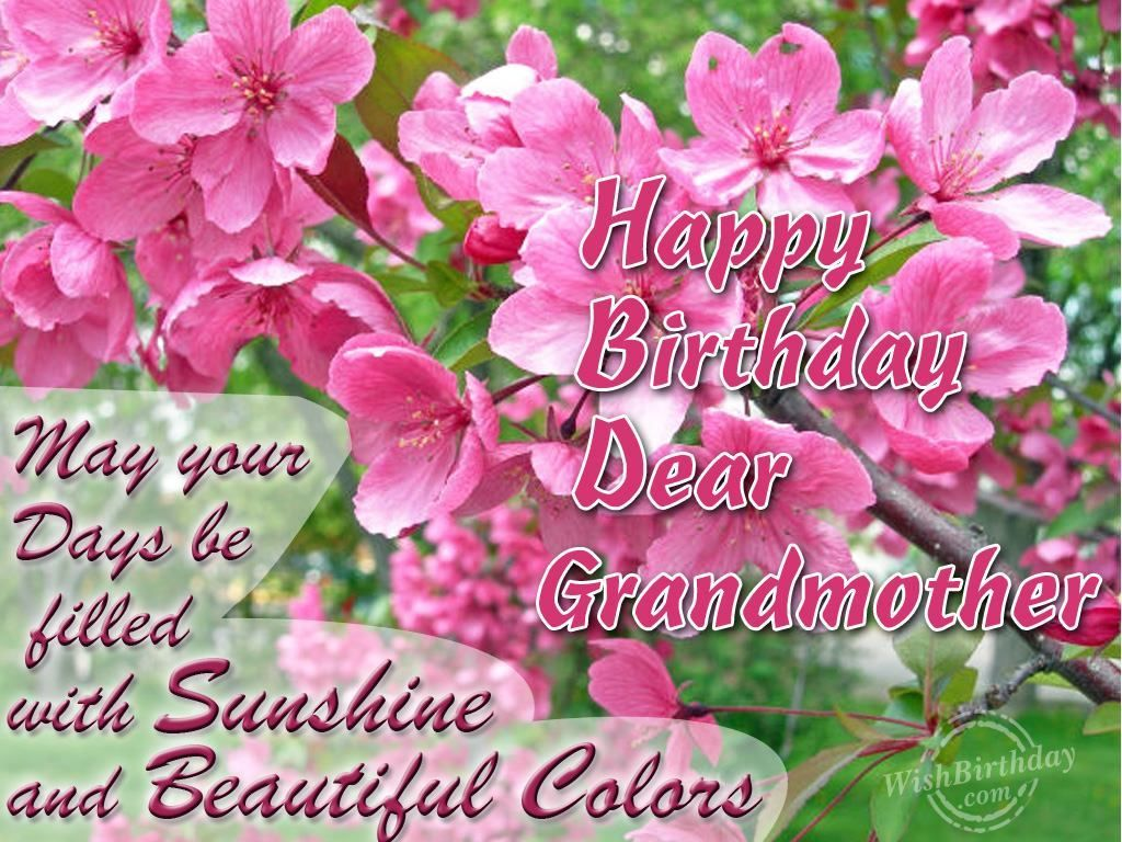 Happy Birthday Dear Grandmother Pictures Photos And Images For