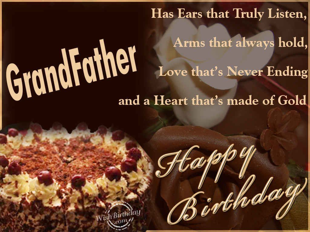 Story Of Birthday Cake For Grandfather