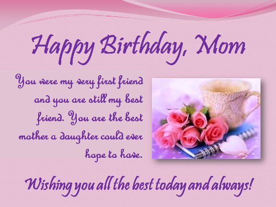 happy birthday letter to my mother happy birthday pictures photos and images for 25802 | 264497 Happy Birthday Mom