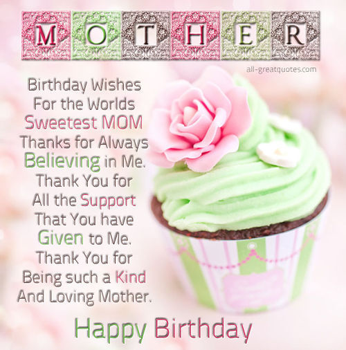 Happy Bday Mom Quotes: Mother Happy Birthday Pictures, Photos, And Images For