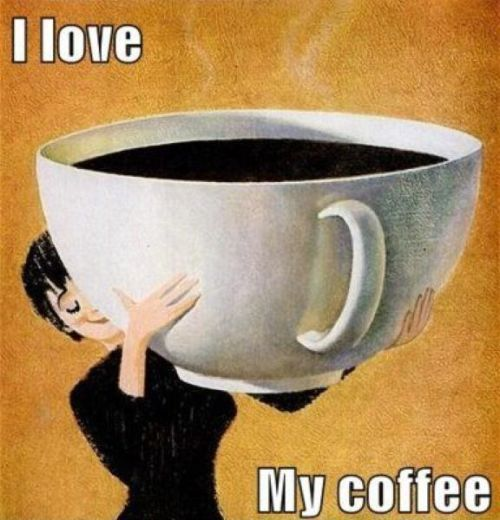 i love my coffee funny image pictures photos and images for facebook tumblr pinterest and. Black Bedroom Furniture Sets. Home Design Ideas