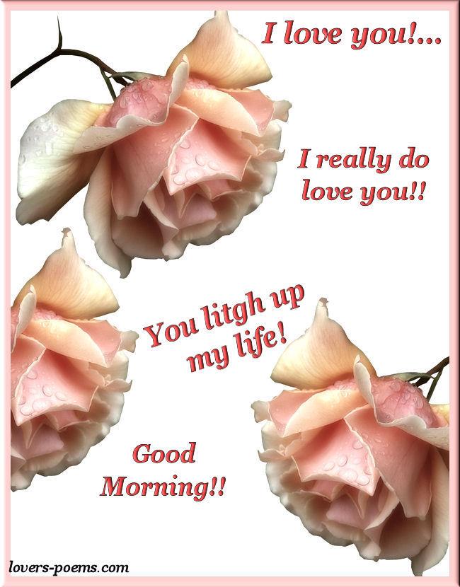 I Love You, Good Morning!