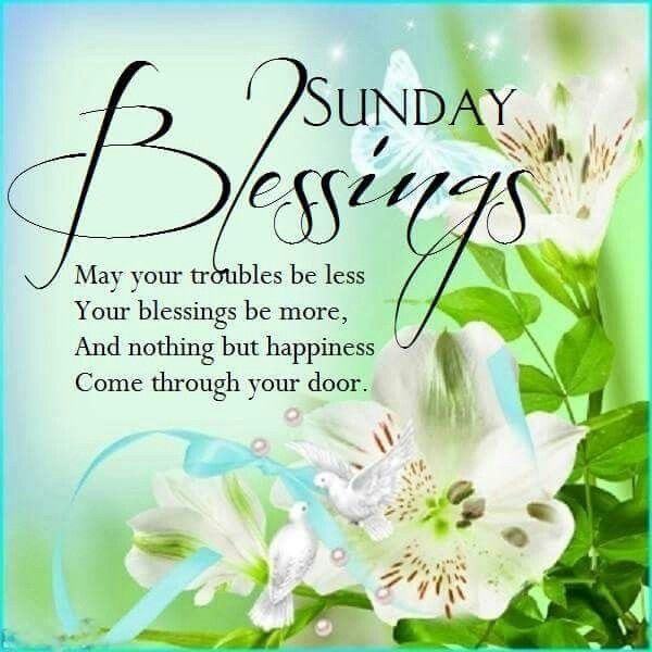 Sunday Blessings Flowers Pictures, Photos, and Images for ...