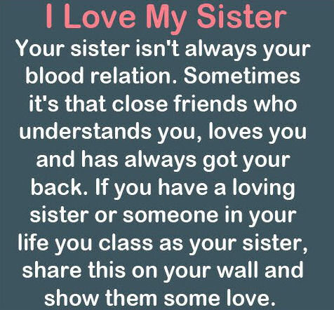 I Love My Sister Pictures Photos And Images For Facebook Tumblr Best Loving My Sister