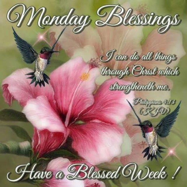 Have a blessed monday and week images