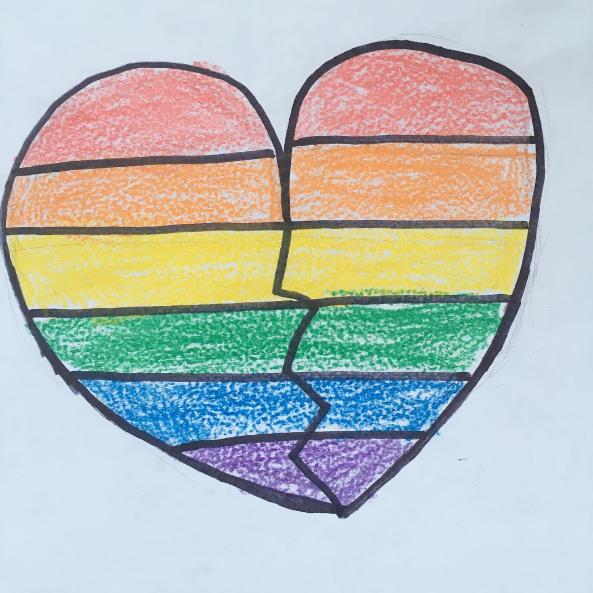 Mourning Symbol For Orlando Shooting Victims Pictures Photos And