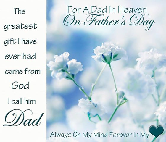 To My Son On Father S Day Quote: For A Dad In Heaven On Father's Day Pictures, Photos, And