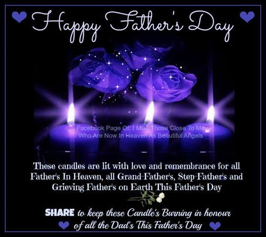 Share This Candle In Remembrance Of Fathers In Heaven