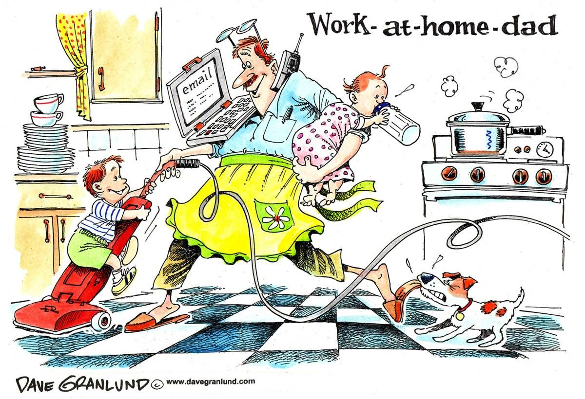 Work At Home Dad Pictures, Photos, And Images For Facebook