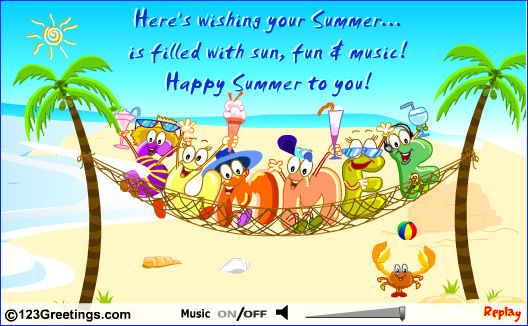Happy Summer To You