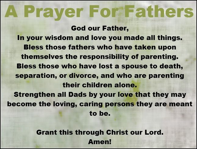 A Prayer For Fathers Pictures, Photos, and Images for Facebook ...