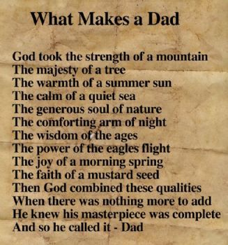 What makes a dad pictures photos and images for for What makes a good father quotes