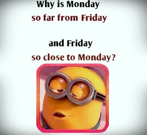 why is monday so far from friday pictures photos and