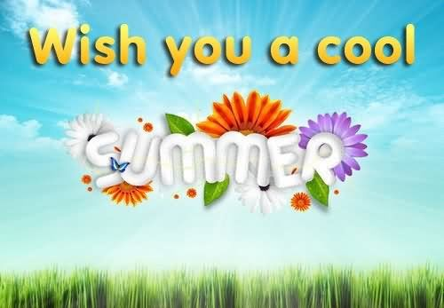 wish you a cool summer pictures photos and images for facebook