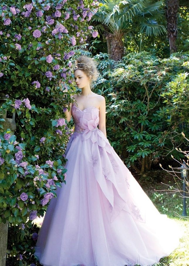 Lavender wedding gown pictures photos and images for facebook lavender wedding gown junglespirit Choice Image