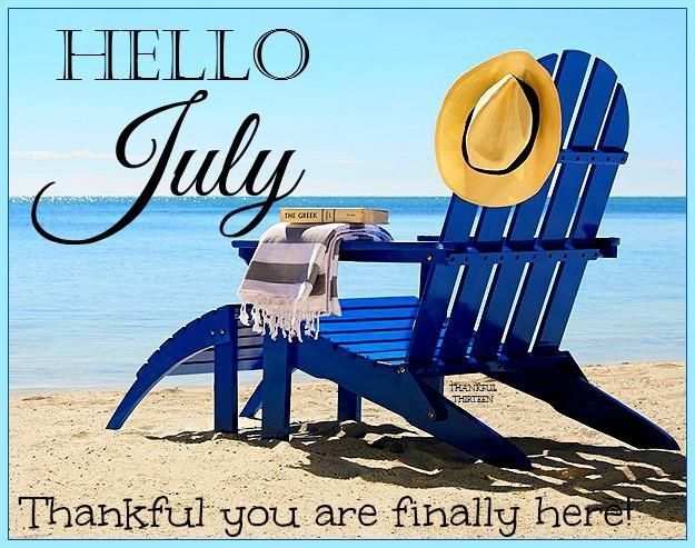 Hello July Pictures, Photos, and Images for Facebook, Tumblr, Pinterest, and ...