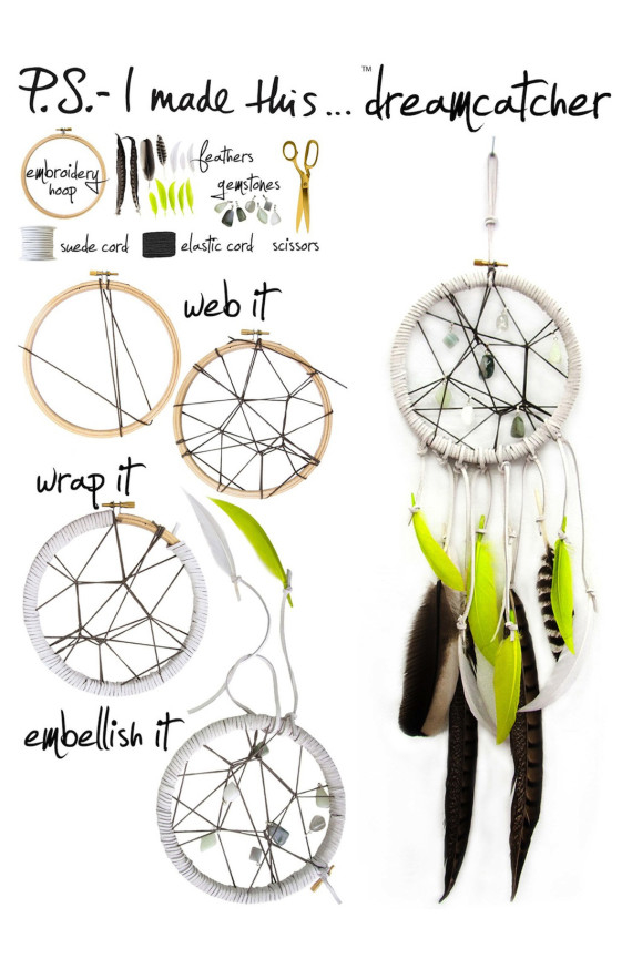 Diy dreamcatcher pictures photos and images for facebook for Dream catchers how to make them