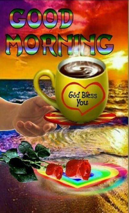 Colorful Good Morning God Bless You Pictures Photos And