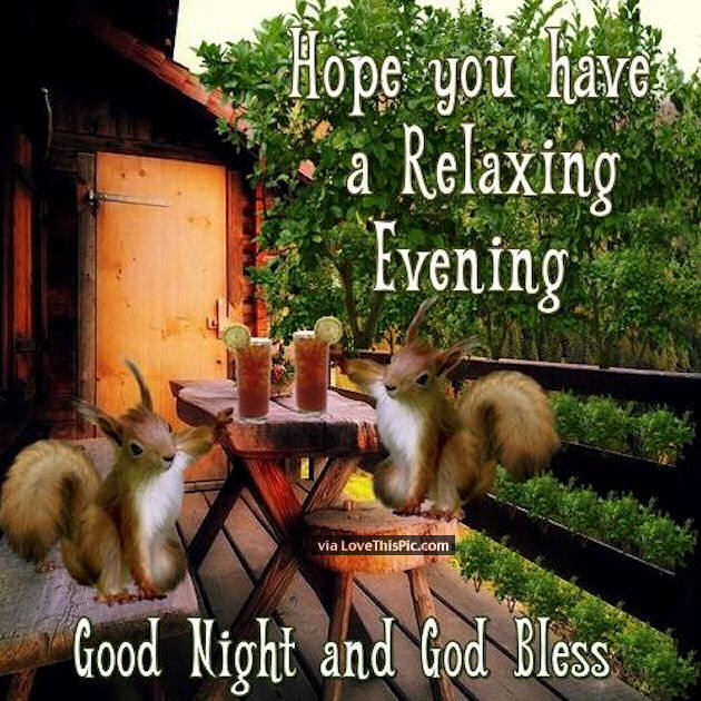 Image result for have a restful evening images