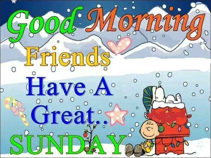 Good Morning Friends, Have A Great Sunday Pictures, Photos