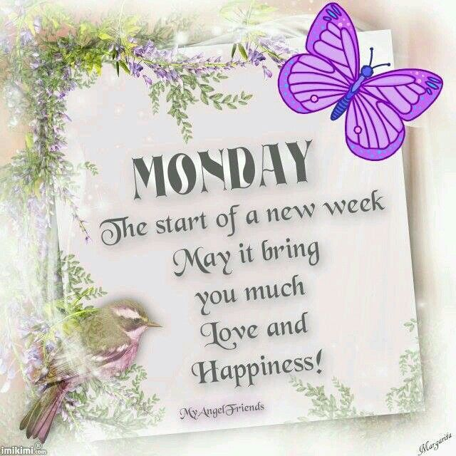 monday the starts of a happy new week pictures photos