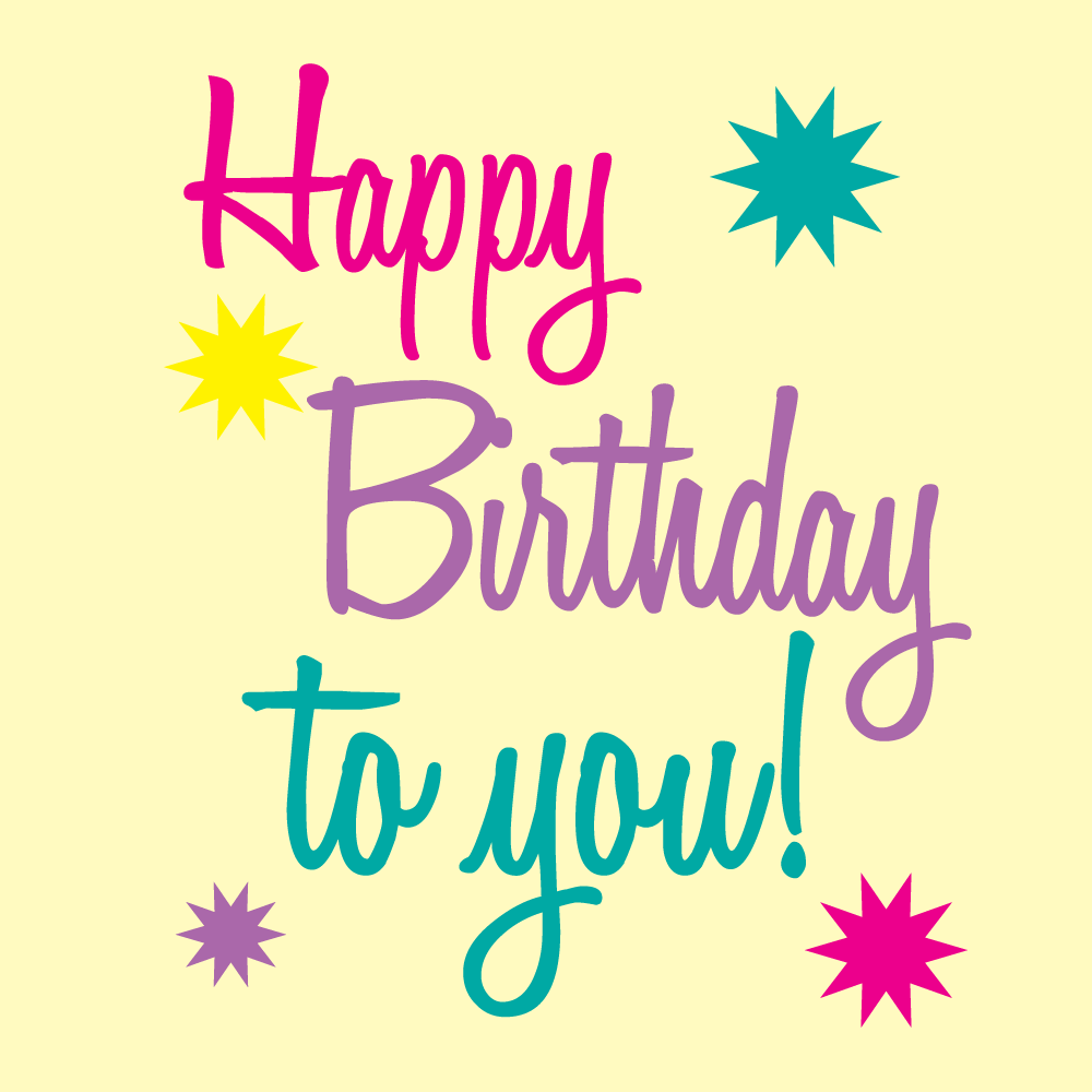 Birthday Clip Art And Free Birthday Graphics: Happy Birthday To You Pictures, Photos, And Images For