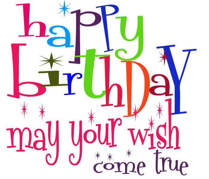 Birthday Clip Art And Free Birthday Graphics: Happy Birthday May Your Wish Come True Pictures, Photos