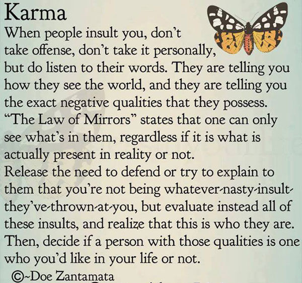 Love Quotes About Life: Karma Pictures, Photos, And Images For Facebook, Tumblr