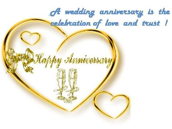 A Wedding Anniversary Is The Celebration Of Love And Trust